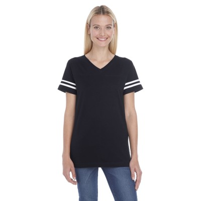 LAT Ladies' Football Tee - Crest