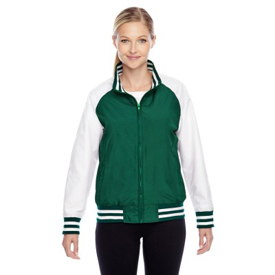 Team 365 Ladies' Championship Jacket - Sewn On Letters