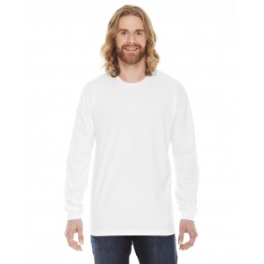 American Apparel Fine Jersey Long-Sleeve T-Shirt - Crest