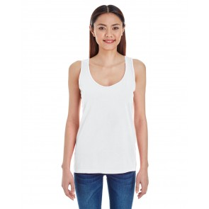 Comfort Colors Ladies' Racer Tank - Sewn On Letters