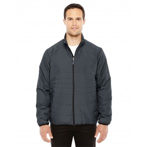 North End Men's Resolve Packable Jacket - Crest