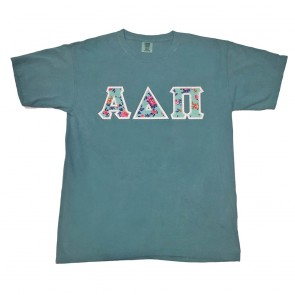 Comfort Colors Garment-Dyed T-Shirt - Sewn On Letters