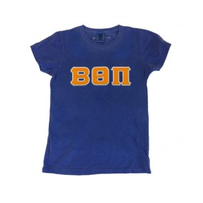 Comfort Colors Ladies' T-Shirt - Sewn On Letters
