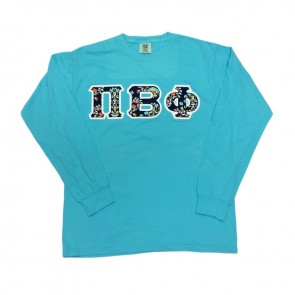 Comfort Colors Long-Sleeve T-Shirt - Sewn On Letters