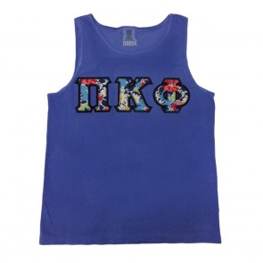 Comfort Colors Tank Top - Sewn On Letters
