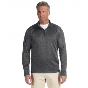 Devon & Jones Men's Compass Quarter-Zip - Sewn On Letters