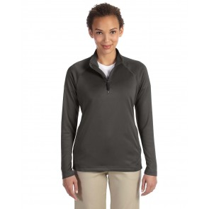 Devon & Jones Ladies' Compass Quarter-Zip - Sewn On Letters