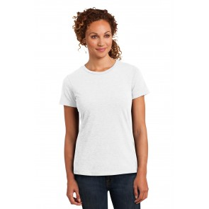 District Ladies' Perfect Blend Tee - Sewn On Letters
