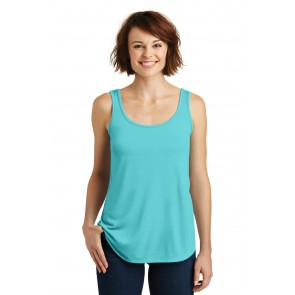 District Made Ladies Drapey Tank - Symbol