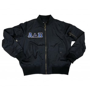 Holloway Ladies Flight Bomber Jacket - Sewn on Letters