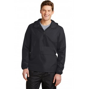 Sport-tek Zipped Pocket Anorak - Custom Pockets