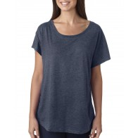 Next Level Ladies' Triblend Dolman - Crest