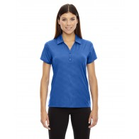 North End Ladies' Embossed Print Polo - Crest