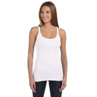 Bella + Canvas Ladies' Sheer Thin Strap Tank - Symbol