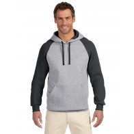 Jerzees Raglan Hooded Sweatshirt