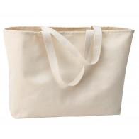 Port & Company Jumbo Tote - Sewn On Letters