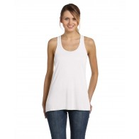 Bella + Canvas Ladies' Flowy Racerback Tank - Custom Pockets