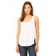 Bella + Canvas Ladies' Flowy Side Slit Tank - Custom Pockets