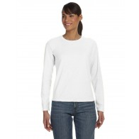 Comfort Colors Ladies' Long-Sleeve T-Shirt - Sewn On Letters