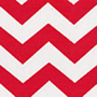 Chevron Heather Red