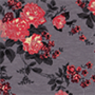 Coral and Slate Floral