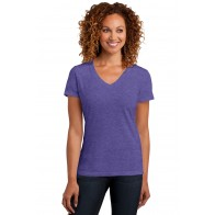 District Ladies' Perfect Blend V-Neck Tee - Symbol