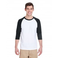 Gildan Unisex 3/4-Sleeve Raglan T-Shirt - Custom Pockets