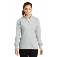 Sport-Tek Ladies' 1/4-Zip Sweatshirt - Crest