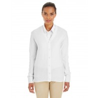 Harriton Ladies' Pilbloc V-neck Button Cardigan Sweater - Custom Pockets