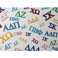 Greek Letter Confetti