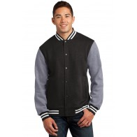Sport-Tek Letterman Jacket - Custom Pockets